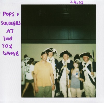 04 pops and soldiers at the sox game