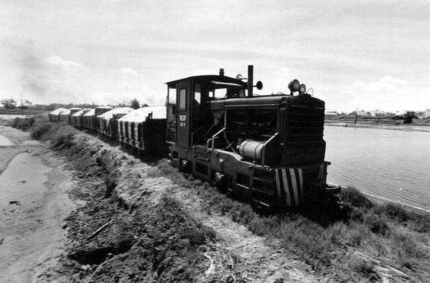 鹽 田 小 火 車